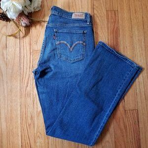 Levi's 515 Bootcut Jeans Medium Wash Size 6